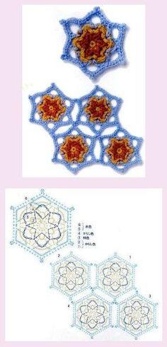 snowflakes crochet 273