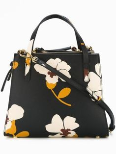 Designer Tote Bags - Designer Bags for Women Handbags On Sale, Luxury Handbags, Tote Handbags, Purses And Handbags, Designer Handbags, Look Fashion, Fashion Bags, Floral Fashion, Fashion Jewelry