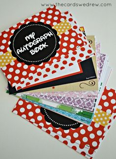 DIY Disney Autograph Book + Free Printable MAY 14, 2013 BY ABBEY 2 COMMENTS  Today I'm going to show you just how I used chipboard to create...: