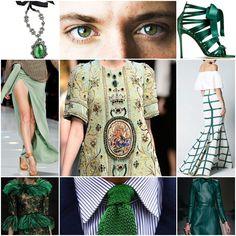 Blog Caca Dorceles. 2015. Inspire-se: SHADES OF GREEN!