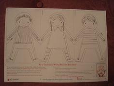 Paper Dolls World Record Attempt, Julia Donaldson, PanMacmillan, Save the Children