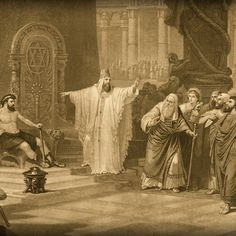 King Solomon - The Wisest Man Who Ever Lived Profile of King Solomon, Israel's Third King>>>>>Punch picture for article