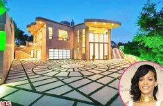 Rihanna's 12 million dollar mansion in Pacific Palisades