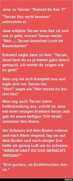 Jane Zu Tarzan: U0027Kennst Du....u0027? | Lustige Bilder
