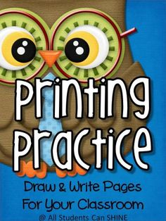 Handwriting Practice - Draw & Write Pages   Edworld Exchange   Where Educators Buy and Sell Resources