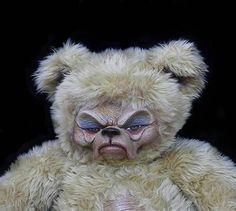 Maude Teddy Bear OOAK Gothic Artist Art Doll Scary Sculpted Old Bag Large | eBay