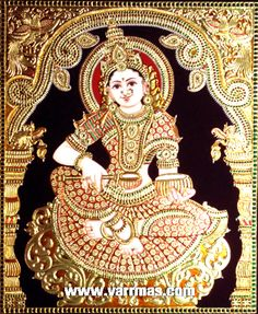 Wide ranges of historic tanjore paintings are available at Varrmas arts and crafts. Visit tanjore painting gallery in online and buy traditional glass paintings.