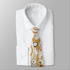 Gustav Klimt The Tree Of Life Art Nouveau Neck Tie