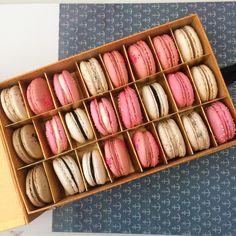A box of beauty macaron