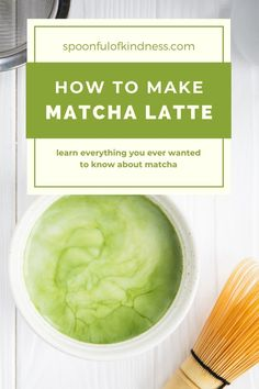 Learn all about matcha and how to make matcha green tea at home! Matcha tea is energizing, calming, and packed with antioxidants. #matcha #latte #tea #breakfast What Is Matcha, How To Make Matcha, Blended Drinks, Matcha Green Tea, Other Recipes, Yummy Drinks, Latte, Vegan Recipes, Snacks