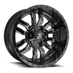 Fuel Offroad Sledge Gloss Black Milled with Offset Wheels Rims Truck Rims, Truck Wheels, Rims And Tires, Wheels And Tires, 26 Inch Rims, Fuel Rims, Volkswagen Amarok, Vw Amarok, Rims For Sale