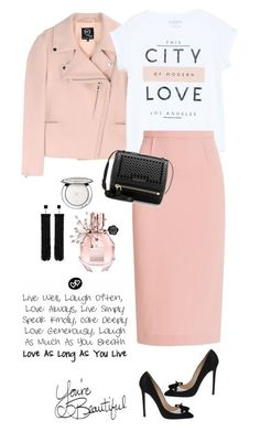 """""""City of modern love"""" by lera-chyzh ❤ liked on Polyvore featuring Christian Louboutin, McQ by Alexander McQueen, MANGO, Tom Ford, Roland Mouret, Givenchy, Guerlain, Viktor & Rolf, LIST and modern"""