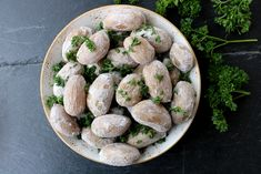 Stuffed Mushrooms, Vegetables, Green, Food, Stuff Mushrooms, Veggies, Vegetable Recipes, Meals, Yemek