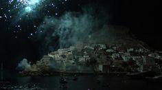 Υδρα - Μιαούλεια 2012.  Από την αναπαράσταση της Ναυμαχίας του Γέροντα! Η νύχτα έγινε μέρα...  Ydra - Miaouleia 2012