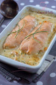 Salmon and shrimp rolls – Fadila cuisine – Claudine Evrard Fish Recipes, Seafood Recipes, Cooking Recipes, Healthy Recipes, Salmon And Shrimp, Fish And Seafood, Food Porn, Salmon Dishes, Main Dishes