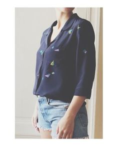 Keana Piped Blouse - Named