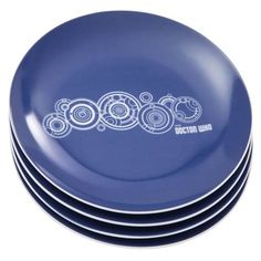 'Doctor Who' Ceramic Bowl And Plate Sets