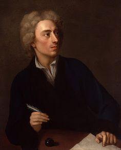 Portrait of Alexander Pope by Michael Dahl, 1727