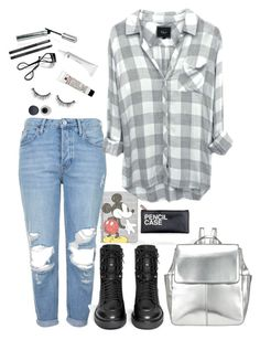 """""""Untitled #32"""" by whoa-its-lexa ❤ liked on Polyvore featuring Topshop, Ash, H&M, Bobbi Brown Cosmetics, Sephora Collection, Japonesque and Kin by John Lewis"""