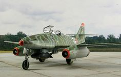 Academy 1/72 scale Me 262 : Image