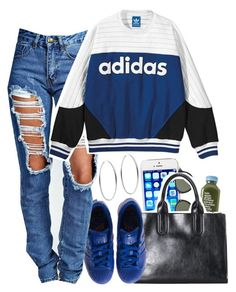 4 | 21 | 15 by mindlesslyamazing-143 on Polyvore featuring polyvore, fashion, style, Boohoo, adidas, Michael Kors and Ray-Ban