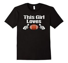 Men's THIS GIRL LOVES FOOTBALL TEAMS PLAYERS GAMES SPORT ... https://www.amazon.com/dp/B01L9MIZN6/ref=cm_sw_r_pi_dp_x_8rcYxbJ8VK78Z Sunday night lights, high school football, football in Texas, get the popcorn and beer ready, college football, pro football, cheering and yelling for your team, scoring, kickoff, football season is so exciting
