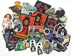 zoltron stickers. by zoltron, via Flickr