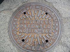 westmount manhole cover