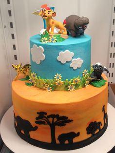 Carson & Carter's 3rd & 4th Lion Guard party. Made by Theresa Gabbett in Slidell, LA
