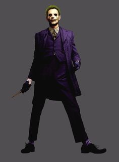 artist Rob Bliss - Pre-Heath Ledger Joker concept art for The Dark Knight