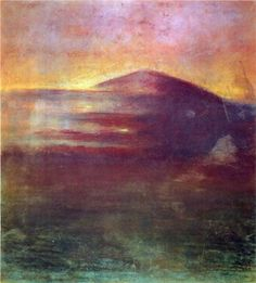 Mikalojus Ciurlionis - Sunset, 1904