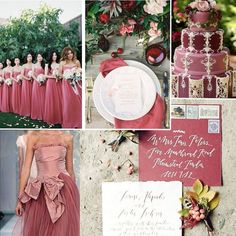 Tendenze nozze-colori moda autunno-inverno 2016-Pantone-dusty cedar