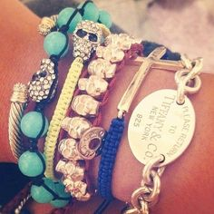 ma favourite bracelet Tiffany and Co <3