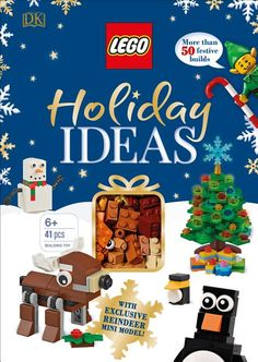 Lego Christmas Ornaments, Holiday Crafts, Holiday Ideas, Holiday Decorations, Tree Decorations, Christmas Ideas, Christmas Books, Holiday Fun, Lego Books