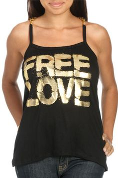 #Wet Seal                 #love                     #Gold #Chains #Love #Tank #Shop #Tops #Seal         Gold Chains Love Tank | Shop Tops at Wet Seal                                 http://www.seapai.com/product.aspx?PID=308264