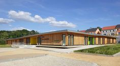 New school by NOMADE in Ville-du-Bois, France
