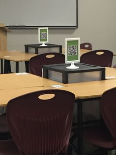QR Codes in the Classroom; High School Classroom Decor; Seating and Set-up