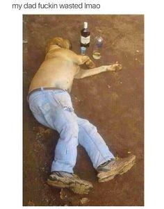 Give the old man a break. He's had a ruff day ... n_n
