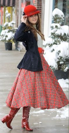 Cute winter outfit! Follow my Feminine Fashion board for more ideas: http://www.pinterest.com/themodestmom/feminine-fashion/