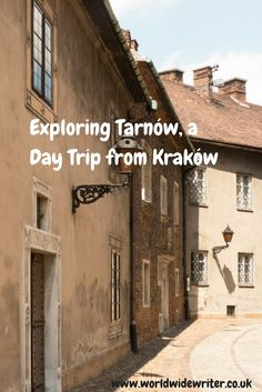 Tarnow in Poland is a historic town, ideal for a day trip from Krakow
