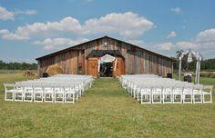 Wishing well barn