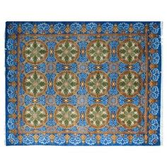 "Check out this item at One Kings Lane! 8'x10'1"" Peshawar Zafar Rug, Blue"