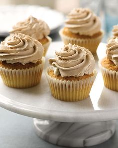 Holy Cannoli Cupcakes Recipe.  Maybe for husband's birthday...