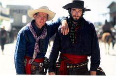 """Tombstone Thomas Haden Church and  John Corbet as """"The Cowboys"""".  #josephporrodesigns"""