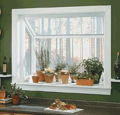 kitchen garden bay window