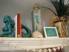This is one of my favorites on beachgrassshop.com: Mermaid Bookends $75.00 each