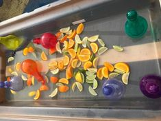 Something smells delicious - perfume making for water play today Senses Activities, Eyfs Activities, Nursery Activities, Water Activities, Toddler Activities, Outdoor Activities, Eyfs Outdoor Area, Outdoor Play Areas, Sand And Water