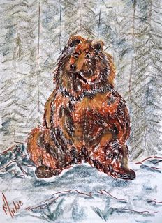 How to draw: A Grizzly Bear Drawing Lessons, Animal Drawings, Lion Sculpture, Arts And Crafts, Bear, Statue, Pretty, Artist, Painting