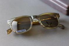 Moscot Originals BABA Sunglasses Olive Tortoise Sz. 49 22 145 MSRP $259 NYC #Moscot #BABA