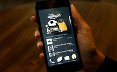 Amazon Harika Telefonu Fire Phone Geliyor.
